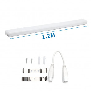 LED Armatur 24W 1.2M Shadowless IP20 4000K