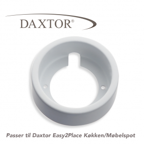 Daxtor Easy2Place - Underbyg.ring - Mat.hvid