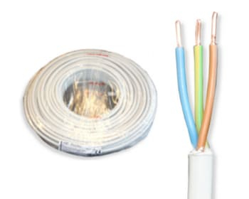 3x1.5G installationskabel, downlight kabel, kabel til led spots